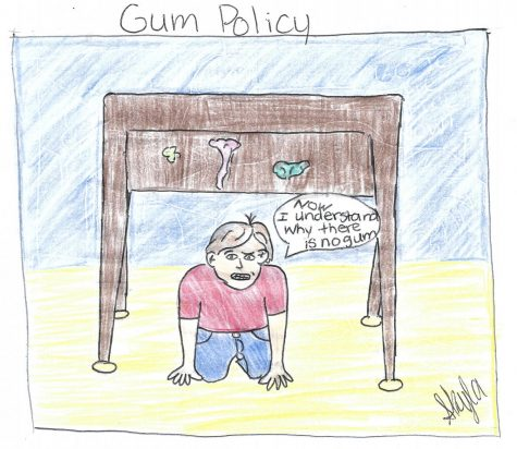 AMS Gum Policy
